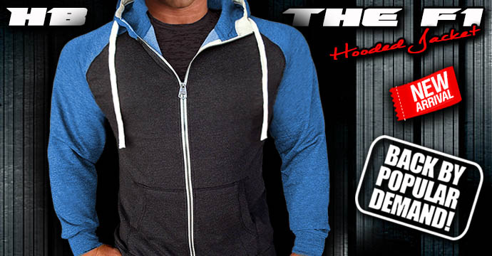 NEW! The F1 Hooded Jacket - Now in 3 Colors!