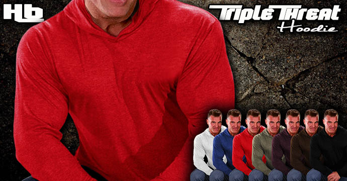 Triple Threat Hoodie - 9 Colors!