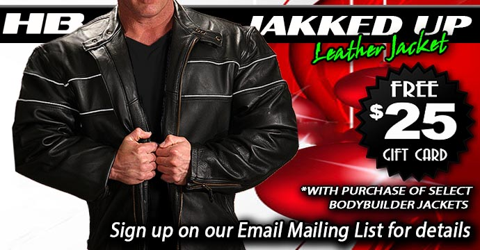 Jakked Up Leather Jacket - Get a $25 Gift Card with Purchase