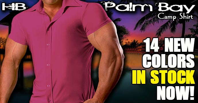 JUST ARRIVED! Palm Bay Camp Shirt - 14 NEW Colors - IN STOCK Now!